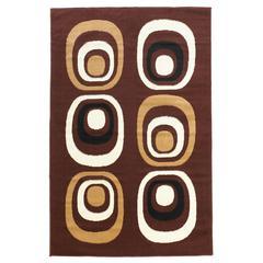 "Capri Collection, 51""W X 87""D X 0.25""H, Brown"
