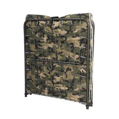 """LIONE Camouflage FOLDING COT, 31.5""""W X 74.8""""D X 13.39""""H, Camouflage"""