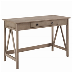 Titian Rustic Gray Desk Rustic Gray
