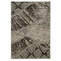 "Linon Jewel Collection  5' X7'6"", Brown"