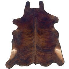 Linon Cowhide Dark Brindle & Dark Brindle Full Skin