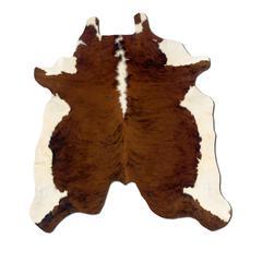 Cowhide Brown Stencil & Brown Stencil Full Skin