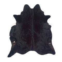 Linon Cowhide Brown Stencil & Brown Stencil Full Skin, Black