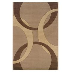 Corfu Collection Tan & Brown 5 X 7.7