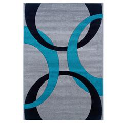 Corfu Collection Grey & Turquoise 5 X 7.7