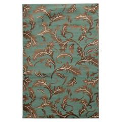 "Elegance Forest Blue, 24""W X 36""D X .25""H, Turquoise"