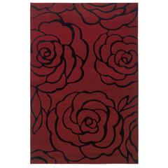 "Milan Collection, 60""W X 91""D X 0.5""H, Garnet"