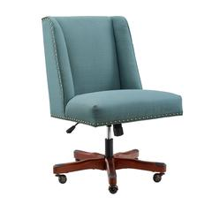 Draper Sea Blue Office Chair