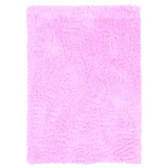 Faux Sheepskin Pink & Pink 3 X 5