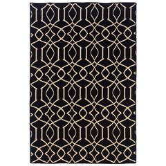 Saloniki Irongate Black 5' X 8