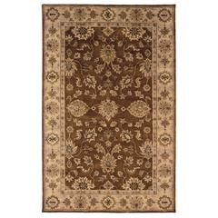 "Linon Rosedown Collection, 96""W X 120""D X 1""H, Brown"