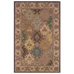 "Soumak Collection, 60""W X 96""D X 1""H, Brown"