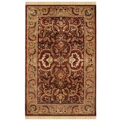 "Rosedown Collection, 22""W X 34""D X 1""H, Burgundy"