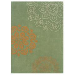 "Trio Collection, 22""W X 34""D X 1.5""H, Pale Green"