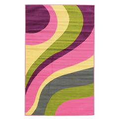 "Tween Collection Flare Multi 4'4"" X 6"