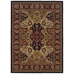 Trio Traditional Tt06 5X7, Burgundy