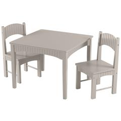Sophie Gray Table and Chair Set