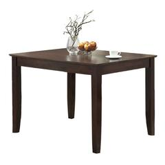 "Walker Edison 48"" Espresso Wood Dining Table"
