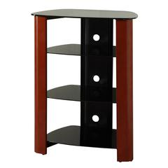 """35"""" Multilevel Component Stand - Cherry"""