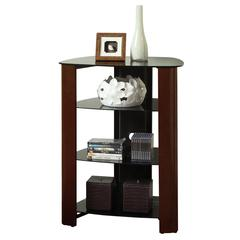 "Walker Edison 35"" Multilevel Component Stand - Espresso"