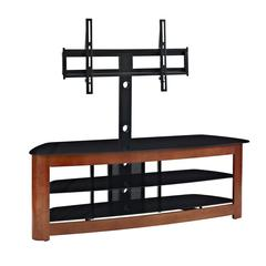 "60"" Deluxe Glass TV Stand with Mount"