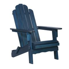 Acacia Outdoor Adirondack - Navy Blue Wash