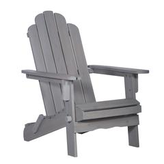 Acacia Outdoor Adirondack Chair - Gray Wash