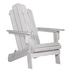 Acacia Outdoor Adirondack Chair - White Wash