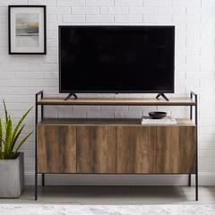 "52"" Urban Industrial TV Stand - Rustic Oak"