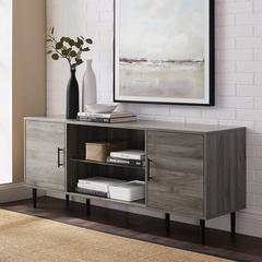 "60"" 2-Door TV Console - Slate Grey"