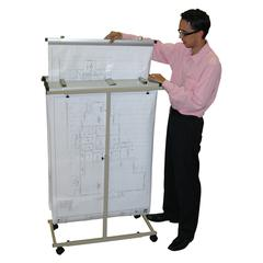 Mobile Vertical Plan Center for Blueprints