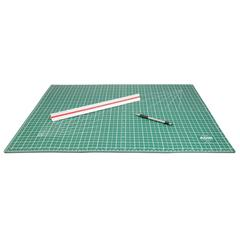 "ADIR Adir Self Healing Cutting Mat Reversible Green/Black 24""x36"""