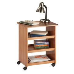 Honey Can Do Multipurpose Cart, Brown (Wood)
