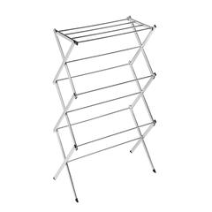 Honey Can Do Chrome Accordion Drying Rack 18 Linear Feet