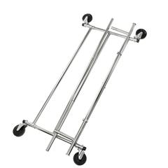 Collapsible Chrome Garment Rack
