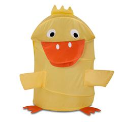 Large Kids Pop-Up Hamper - Duck, Yellow
