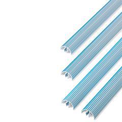 75Pcs Bulk Pant Mates, White/Blue
