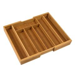 Honey Can Do Bamboo Expandable Cutlery Tray