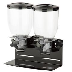Honey Can Do Double Pro Model 17.5 Oz Dispenser, Black