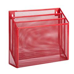 Honey Can Do Vertical File Sorter, Red
