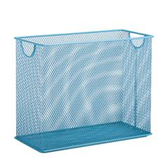 Honey Can Do Table Top Hanging File Organizer, Blue