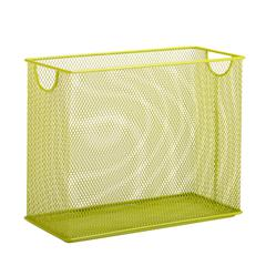 Honey Can Do Table Top Hanging File Organizer, Lime