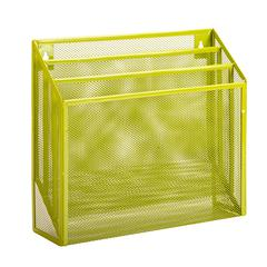 Honey Can Do Vertical File Sorter, Lime