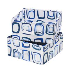 Honey Can Do Drawer For Sweater Organizer; (Blue/White)