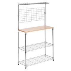 Honey Can Do Chrome 2 Shelf Urban Baker's Rack