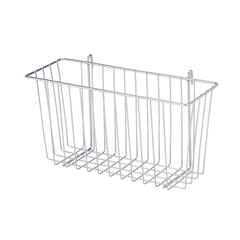 Chrome Wire Accessory Basket