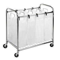 Heavy-Duty Quad Sorter, Chrome