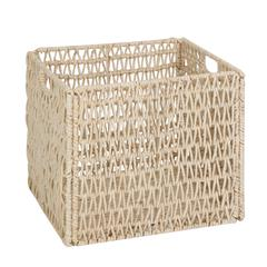 Honey Can Do Folding Basket, Natural