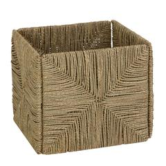 Honey Can Do Folding Seagrass Basket, Natural