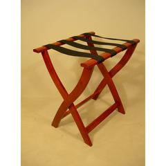 Cherry Luggage Rack, solid wood